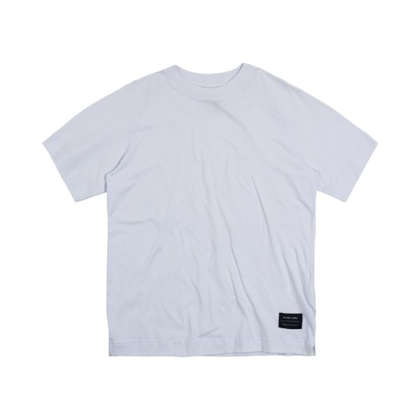 Camiseta Masculina Raglan Oversided OVERLAP - BRANCO