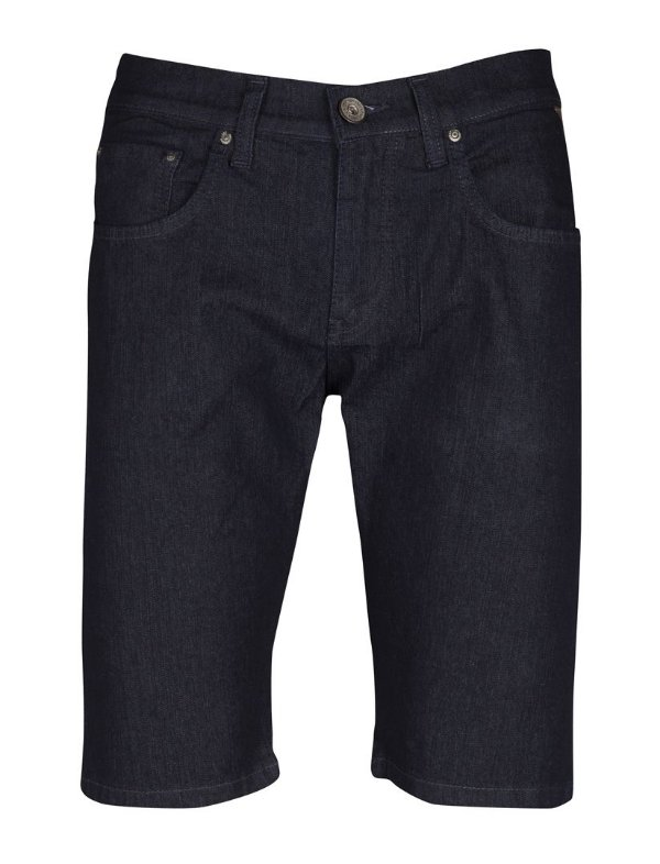 Bermuda Jeans Basis Dark Denim