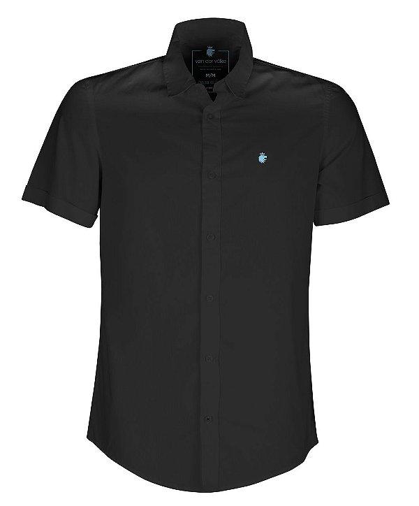 Camisa basis short preto