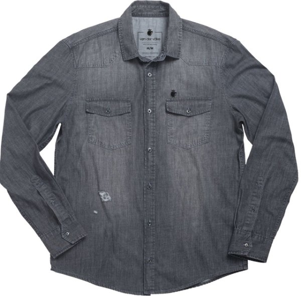 Camisa Zwart Arrow Black Denim