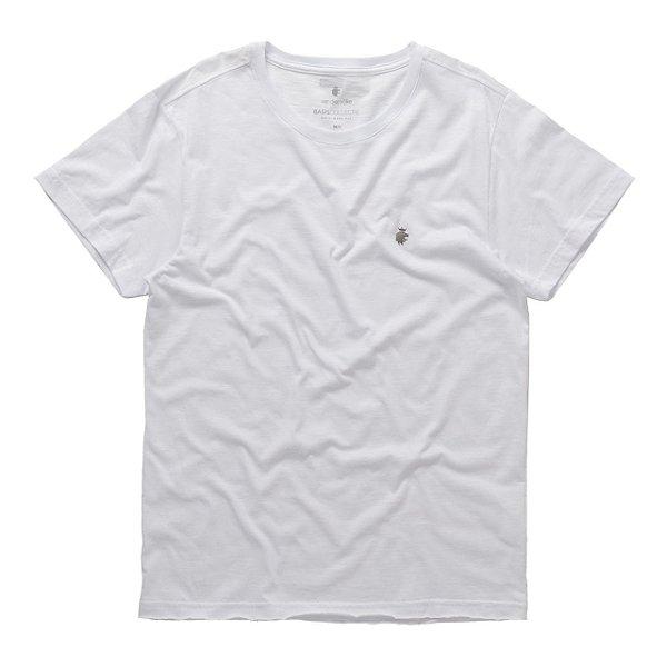 T-Shirt Basis Wave Flame Branco