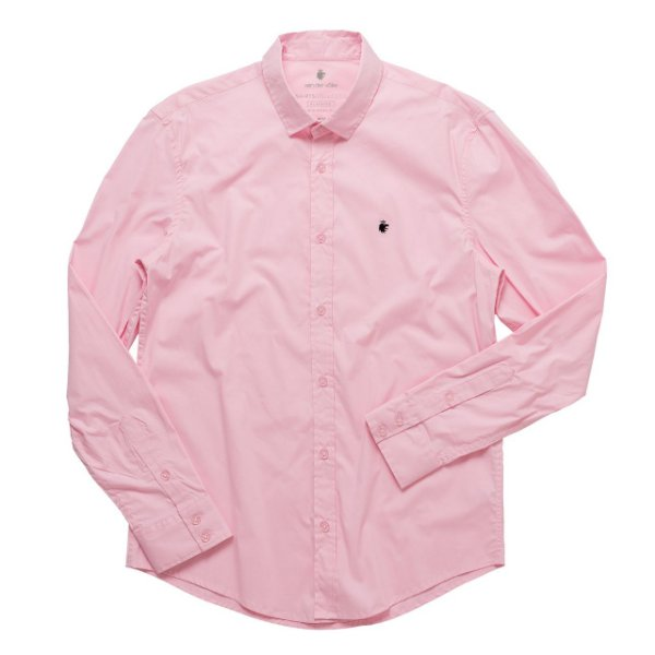Camisa Basis Rosa Claro