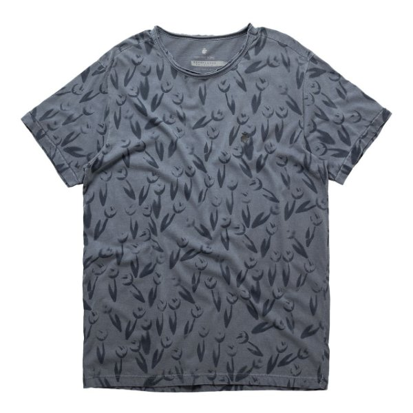 T-Shirt Tulip Decalque Full Marinho