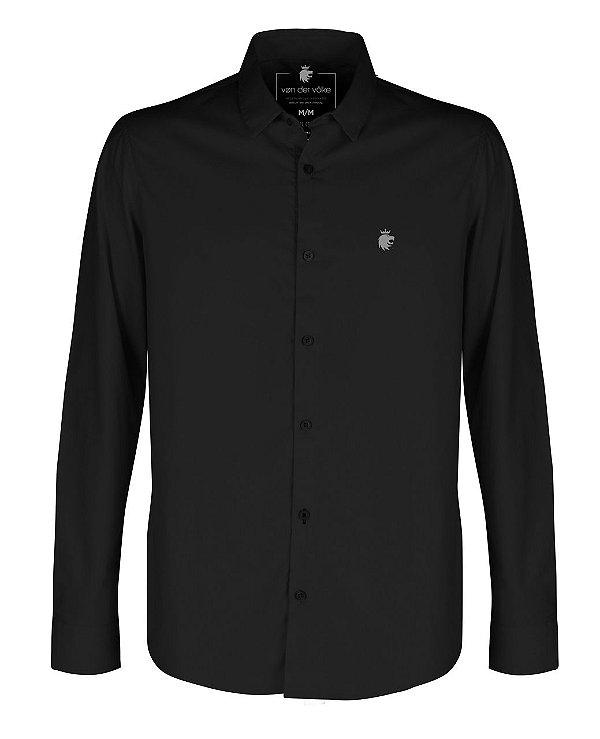 Camisa Basis Bl Preto