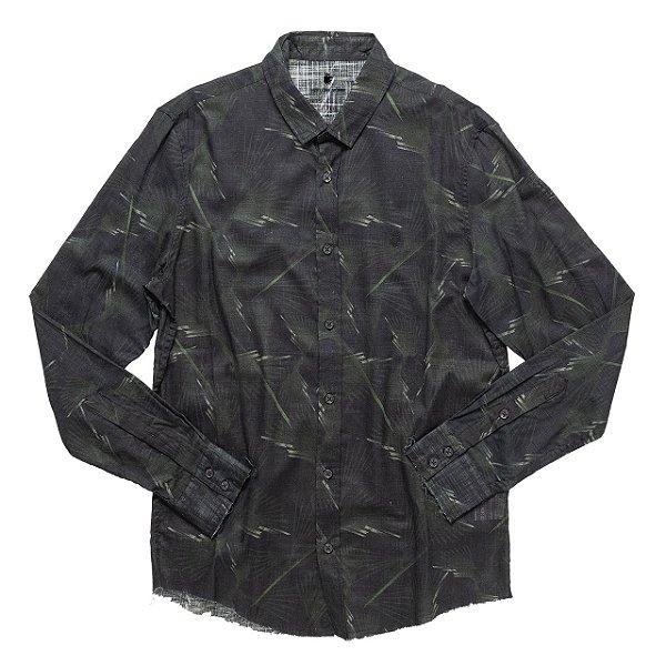 Camisa Koi Militarie Preto