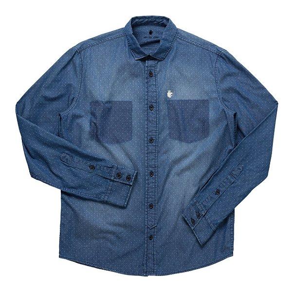 Camisa Roterdã Medium Denim