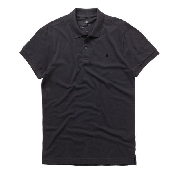 Polo Basis Piquet Preto