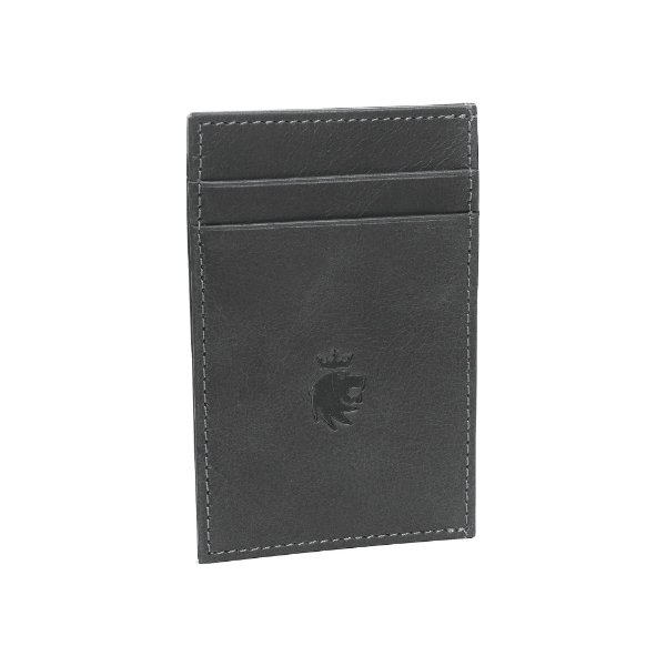 Porta cartões com 4 compartimentos - Preto