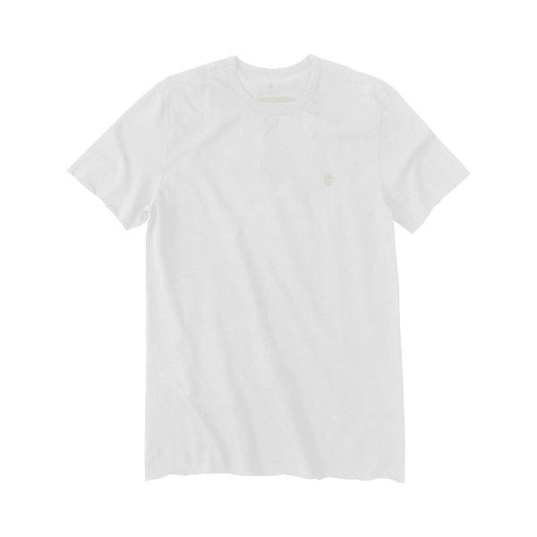 Camiseta Masculina em Crepe Leão Vøn der Völke - Branco
