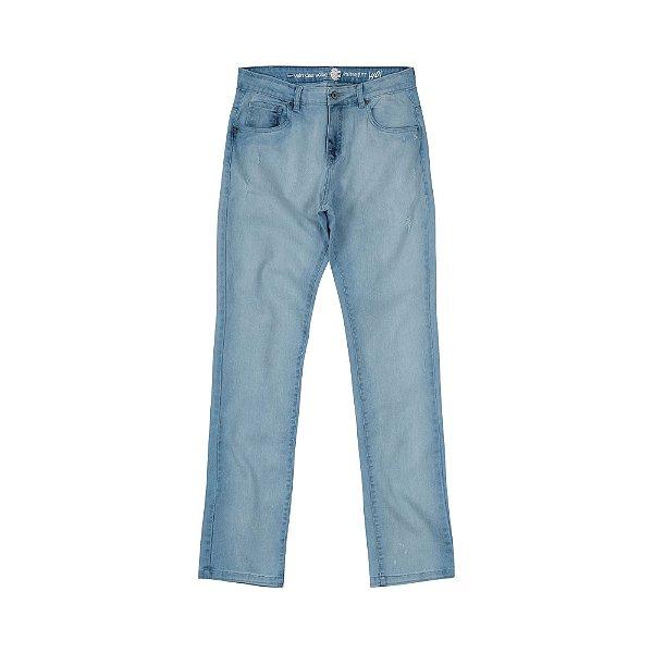 Calça Jeans Clara Masculina Reta Brian - Light Denim