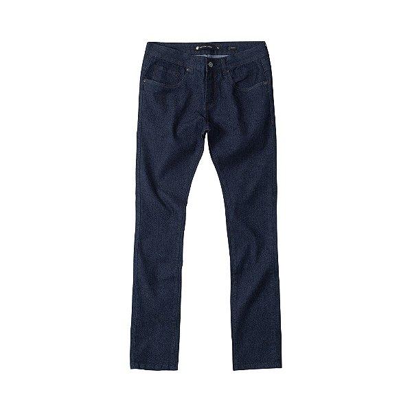 Calça Jeans Skinny Escura Masculina Basis Range - Dark Denim