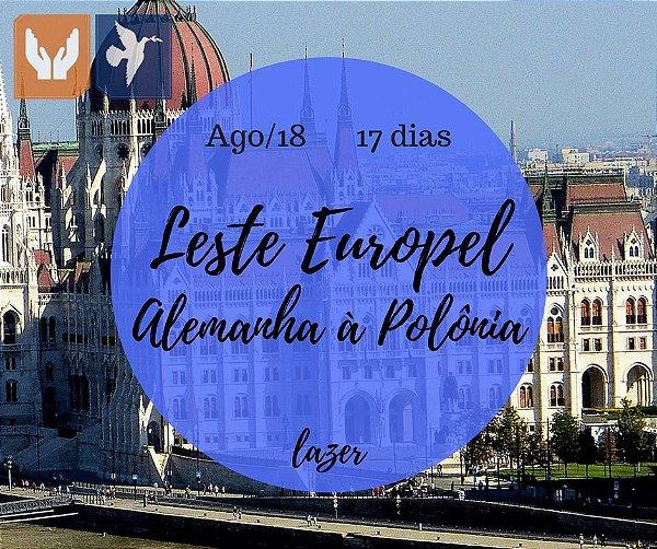 LESTE EUROPEU, ALEMANHA À POLÔNIA – 17 DIAS / AGO 2018