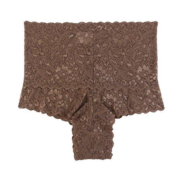 Calcinha Pimenta Tabasco de Renda Chocolate