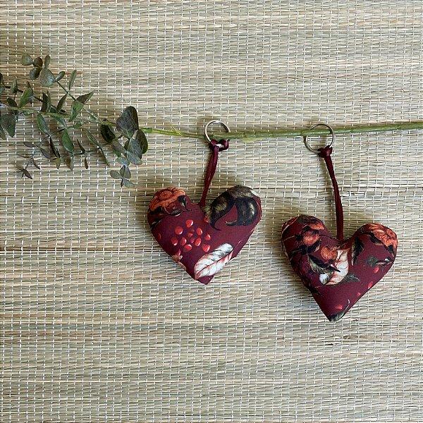 Chaveiro Coração Exclusivo Potti Romã - Fertilidade