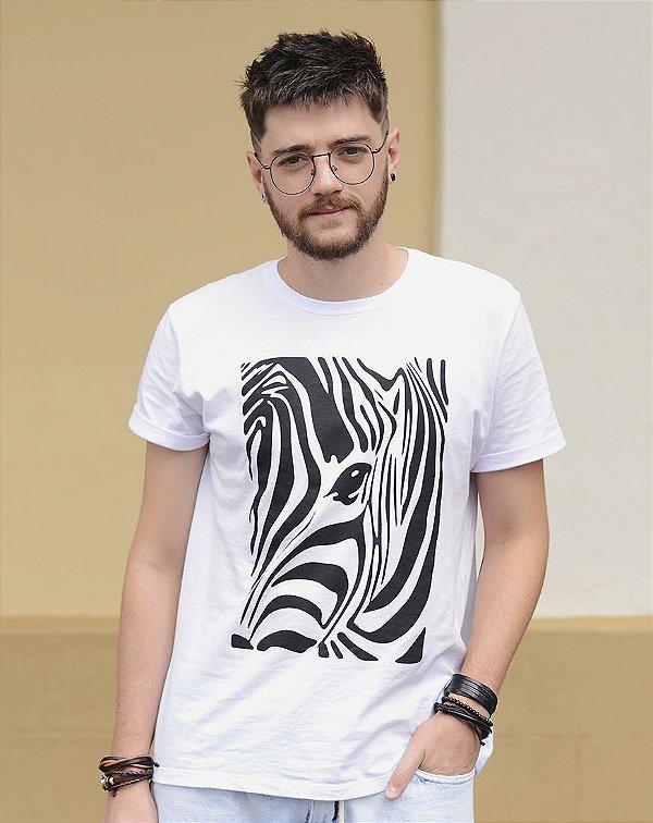 Camiseta Unissex Zebra