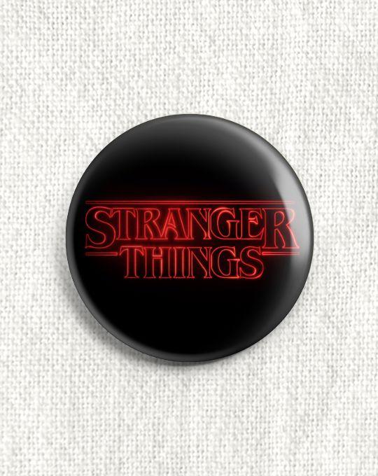 Boton Stranger Things