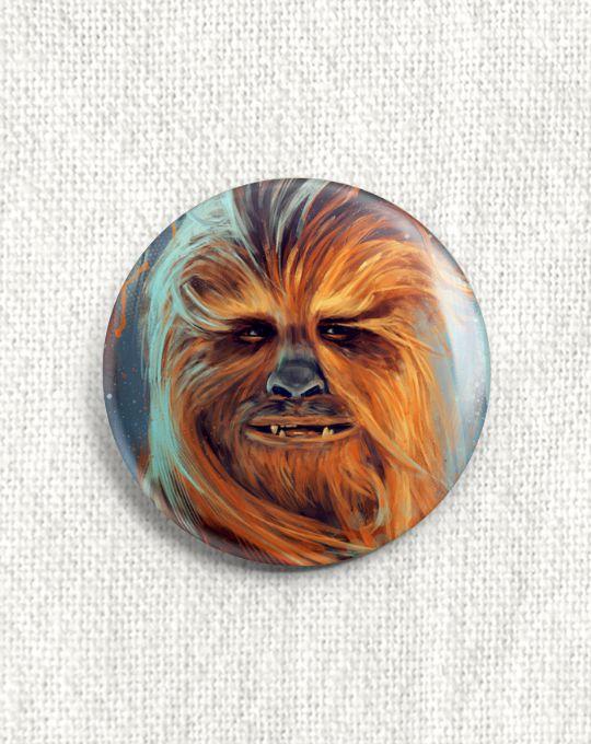 Boton Star Wars - Chewbacca