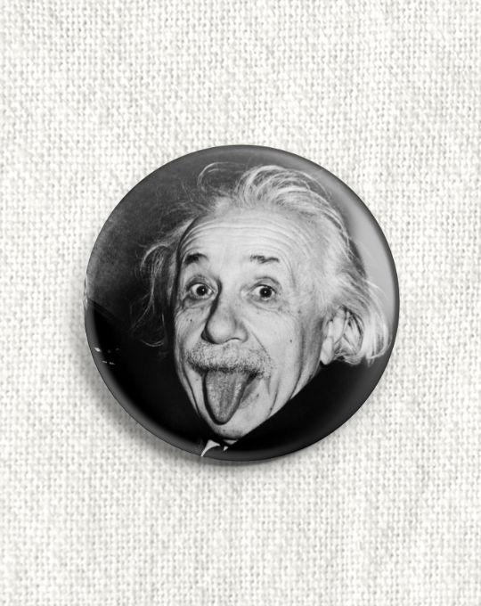 Boton Albert Einstein