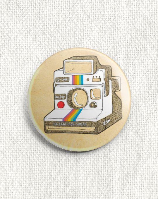 Boton Câmera Polaroid