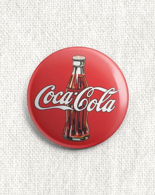 Boton Coca-Cola