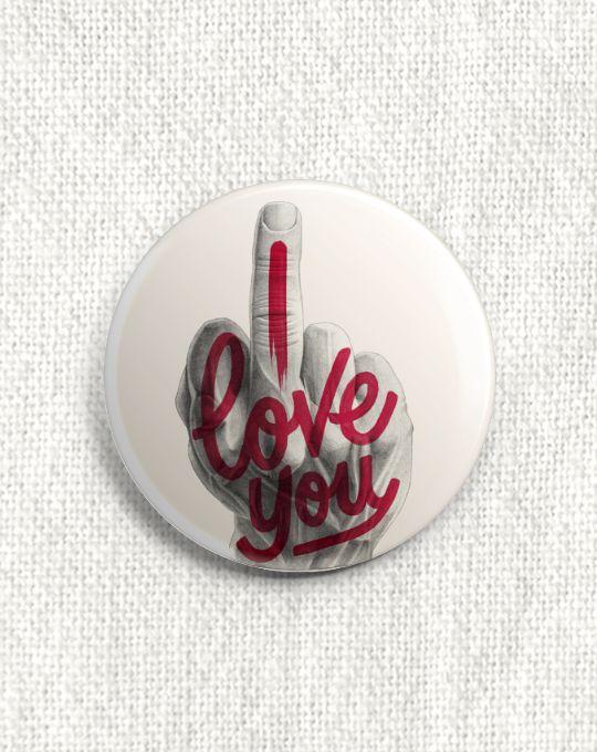 Boton I Love You