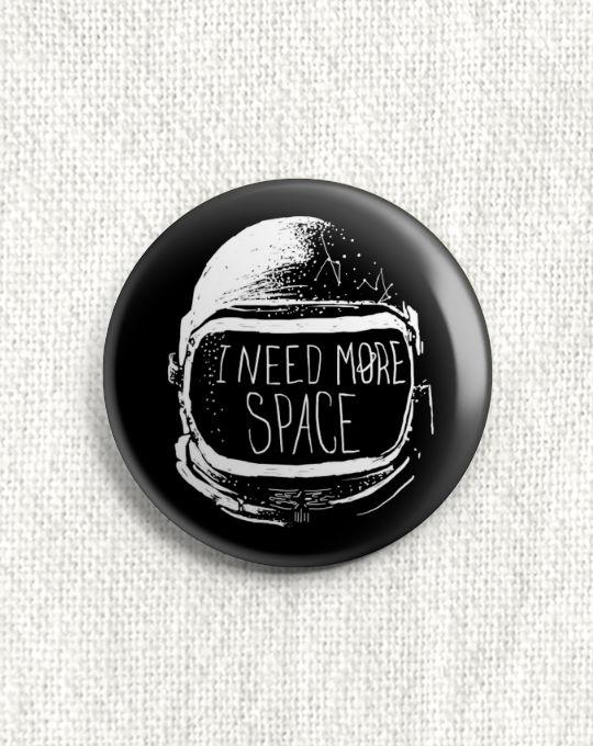 Boton I Need More Space