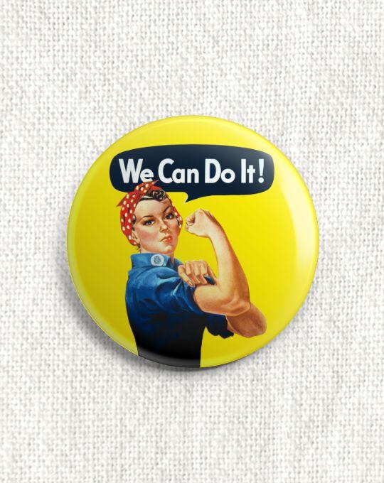 Boton We Cand Do It!