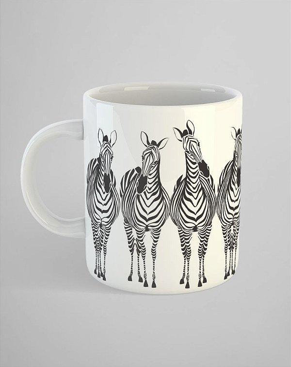 Caneca Zebras