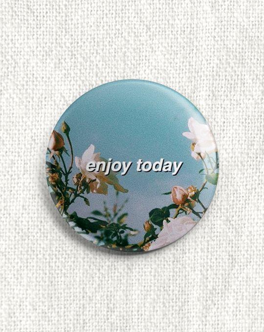 Boton Enjoy Today