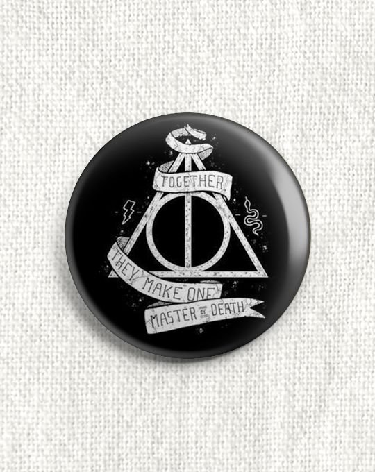 Boton Harry Potter
