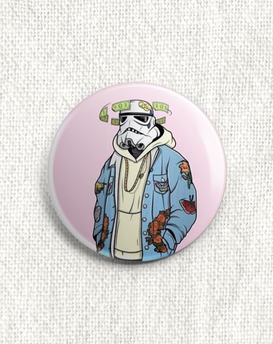 Boton Stormtrooper
