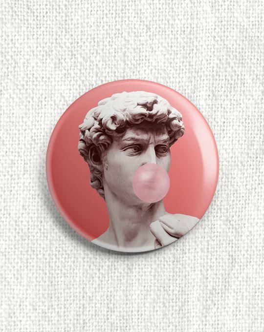 Boton Bubble Gum
