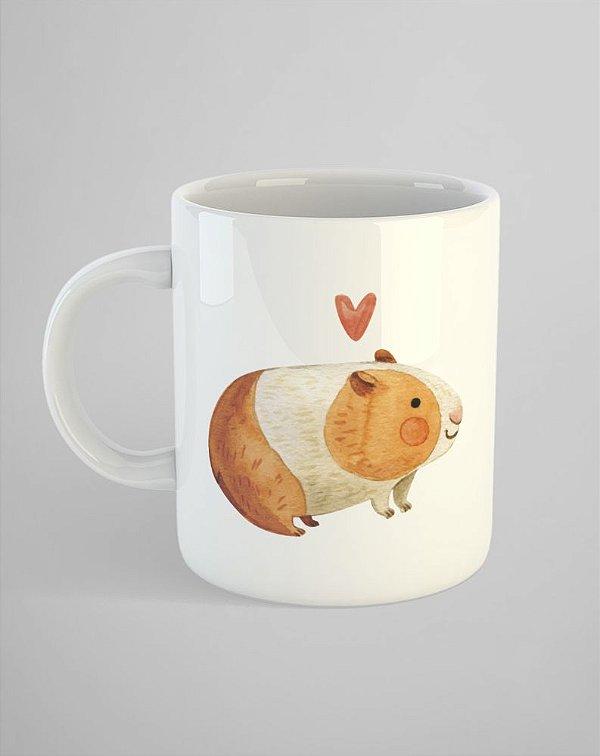 Caneca Pets - Porquinho da Índia