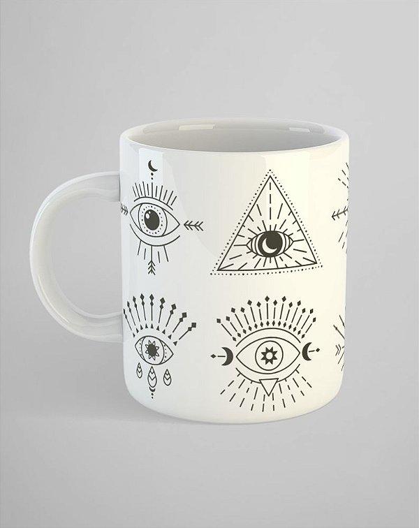 Caneca Olhos Místicos