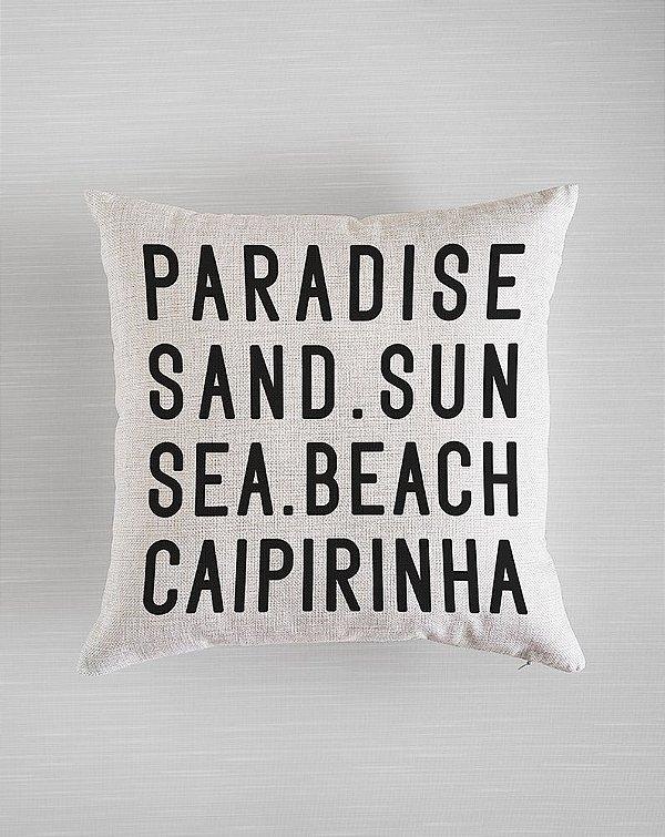 Capa de Almofada Paradise