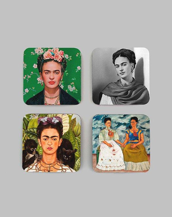 Porta Copos Frida Kahlo