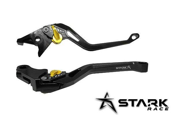 Manete Esportivo Longo Stark Race Hornet Cbr900rr Cbr600f