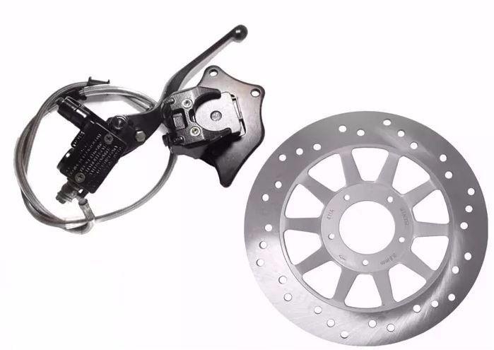 Sistema Freio Disco Completo Honda Cg Titan 125 150 00/08