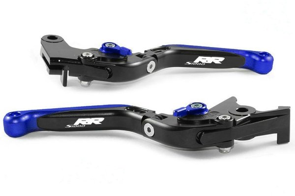 Manete Esportivo Preto Azul Bmw S1000rr  Laser S 1000rr
