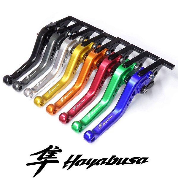 Manete Esportivo Suzuki Hayabusa  Gravado A Laser