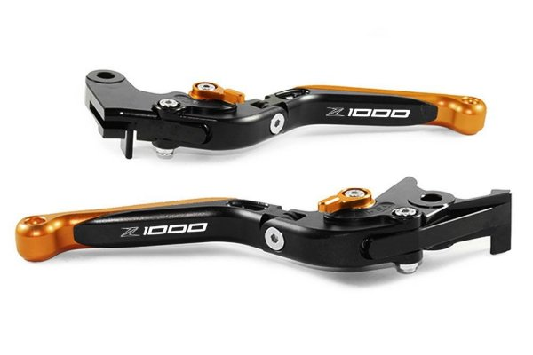 Manete Esportivo Preto Laranja Kawasaki Z1000 Laser Z1000
