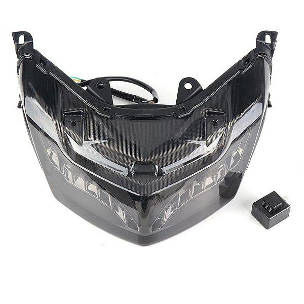 Lanterna LED Piscas Integrado Yamaha NMAX 160