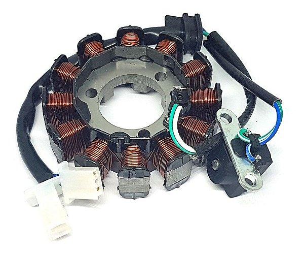 Estator Magneto Cg Titan 125 Titan125 Fan 125 Fan125 16 A 17