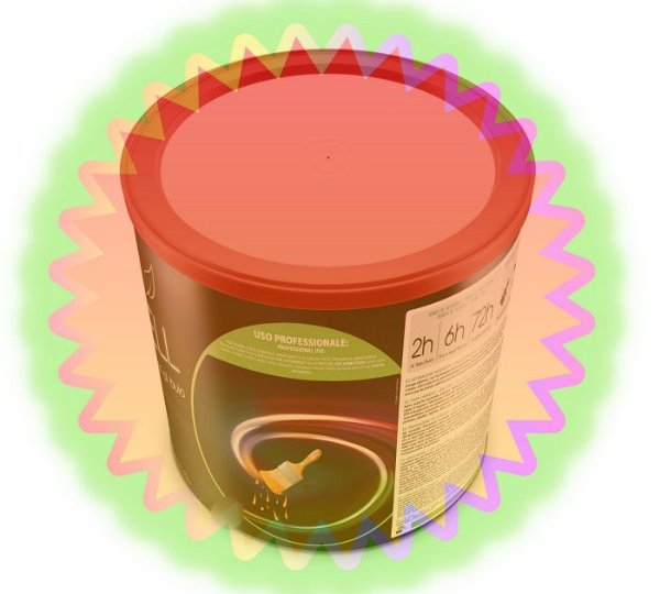 900ml Verniz Especial para Acabamento para Tinta Glow Corion