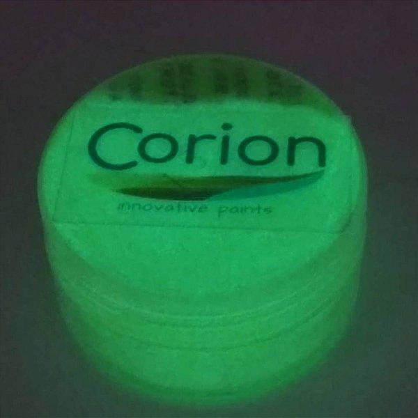 Pó Glow Corion 10gr Cor Verde Neon - Brilha No Escuro Sem Luz Negra. Fotoluminescente