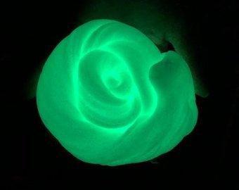 Pó Glow - Cor Verde Neon - Brilha No Escuro Sem Luz Negra