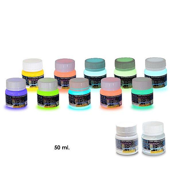 Kit 7 Potes Grandes Tinta Glow Frete Gratis
