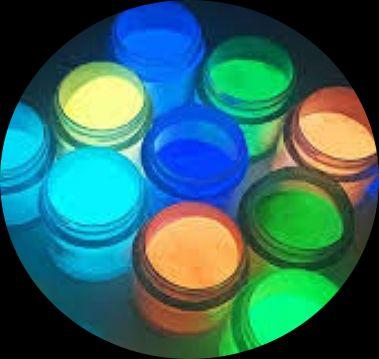 Kit 10 x Pó Glow 10gr Corion - Todas as Cores - Fosforescente - Brilha No Escuro Sem Luz Negra * Frete Gratis e Parcela