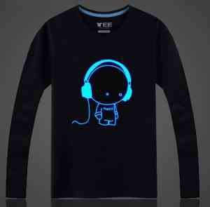 Camiseta: Pó Glow Corion Pote 10gr Para Fazer Camiseta que Brilha no Escuro Sem Luz Negra