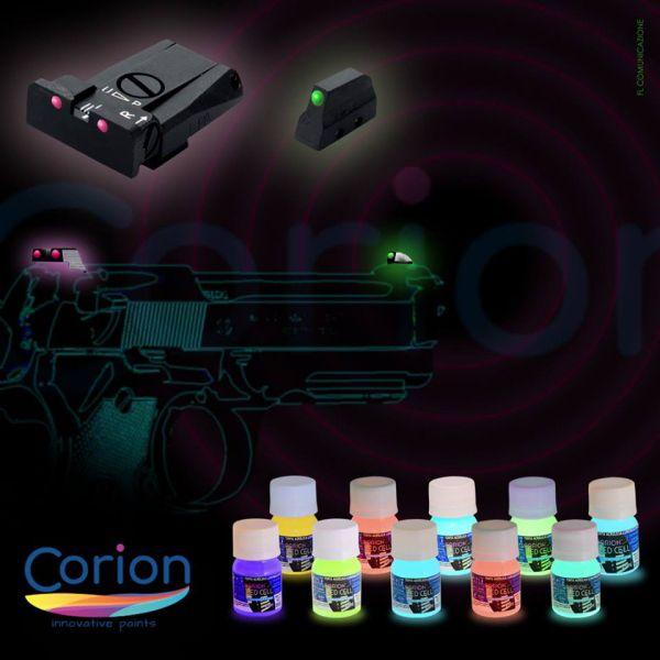 Kit 2 Cores de 25ML Tinta Glow Corion.  Cores a Escolher